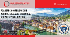 Academic Conference 2020 on Agricultural and Biological Sciences