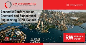 Academic Conference 2020 on Chemical and Biochemical Engineering