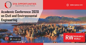 Academic Conference 2020 on Civil and Environmental Engineering
