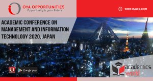 Academic Conference 2020 on Management and Information Technology