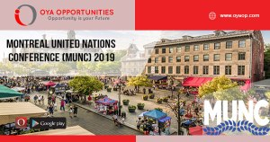 Montreal United Nations Conference (MUNC) 2019