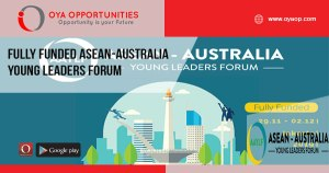 Fully Funded ASEAN-Australia Young Leaders Forum