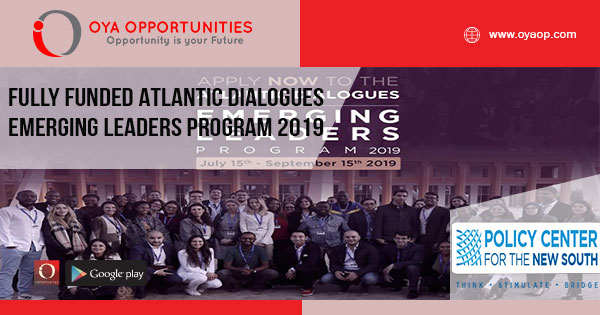 Fully Funded Atlantic Dialogues Emerging Leaders Program 2019