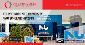Fully Funded Nile University (NU) scholarship 2019