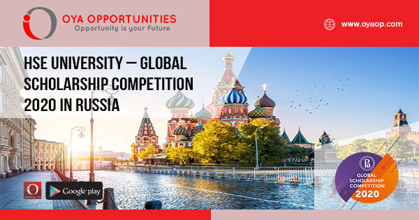 HSE University – Global Scholarship Competition 2020 in Russia