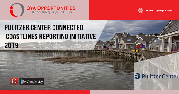 Pulitzer Center Connected Coastlines Reporting Initiative 2019