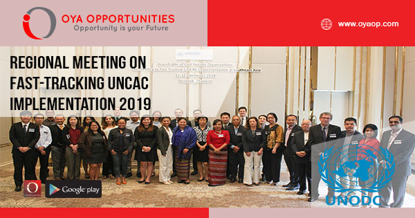 Regional Meeting on Fast-tracking UNCAC Implementation 2019