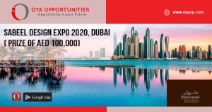 Sabeel Design Expo 2020, Dubai ( prize of AED 100,000)