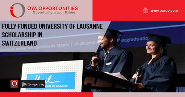 Fully Funded University of Lausanne Scholarship in Switzerland