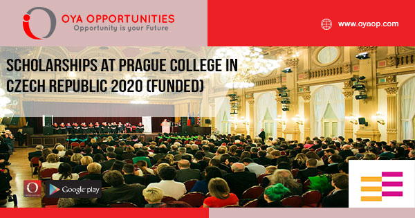 Scholarships at Prague College in Czech Republic 2020 (Funded)