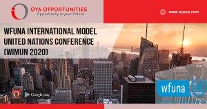 WFUNA International Model United Nations Conference (WIMUN 2020)