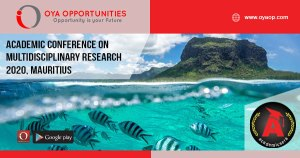 Academic Conference 2020 on Multidisciplinary Research and Practice