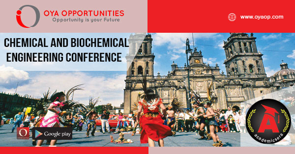 Chemical and Biochemical Engineering Conference 2020 Mexico