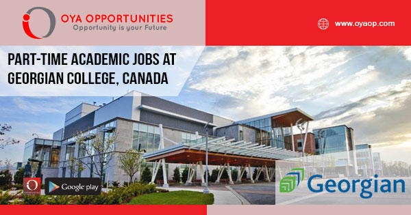Part-time academic jobs at Georgian College, Canada