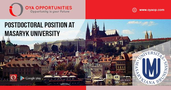 Postdoctoral position at Masaryk University - OYA