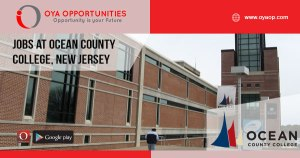 Jobs at Ocean County College, New Jersey
