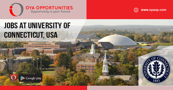 Jobs at University of Connecticut, United States