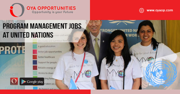 Program Management jobs at UN (United Nations)