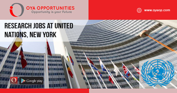 Research jobs at United Nations, New York