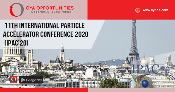 11th International Particle Accelerator Conference 2020 (IPAC'20)
