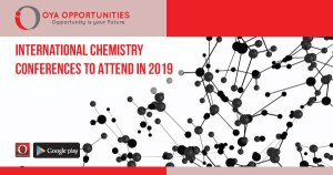 International Chemistry Conferences to Attend in 2019