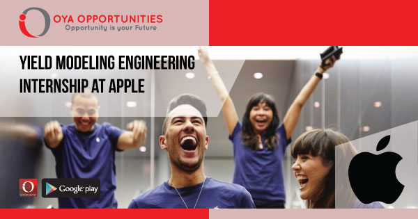 Yield Modeling Engineering Internship at Apple