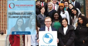 Fully Funded Atlas Corps Fellowship 2020 in USA