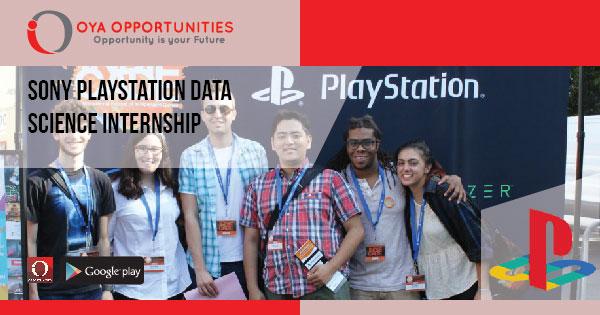Sony Playstation Data Science Internship