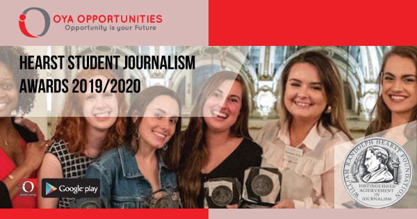 Hearst Student Journalism Awards 2019/2020