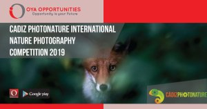 Cadiz Photonature International Nature Photography Competition 2019