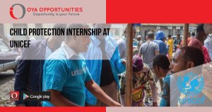 Child Protection Internship at UNICEF