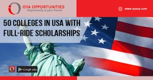 50 Colleges in USA With Full-Ride Scholarships