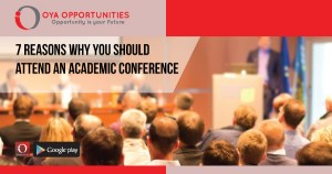 7 Reasons why you should attend an Academic Conference