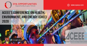 ACEEE's Conference on Health, Environment, and Energy (CHEE) 2020