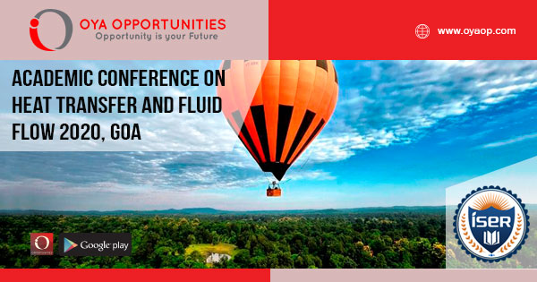 Academic Conference 2020 on Heat Transfer and Fluid Flow