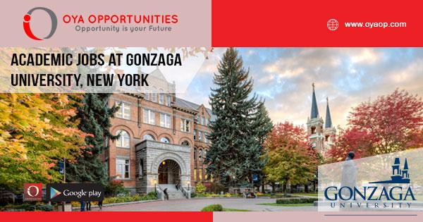Academic jobs at Gonzaga University