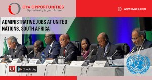 Administrative jobs at United Nations, South Africa