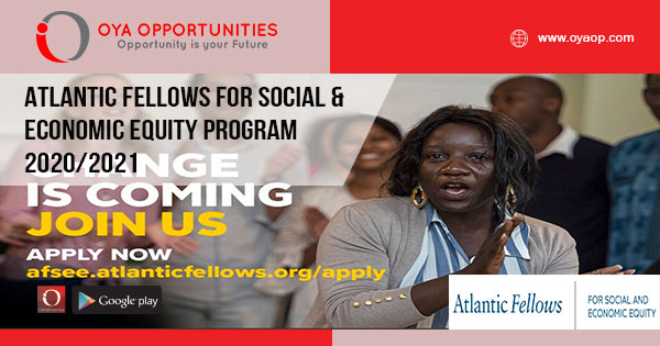 Atlantic Fellows for Social & Economic Equity Program 2020/2021