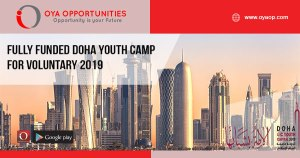 Fully Funded Doha Youth Camp for Voluntary 2019