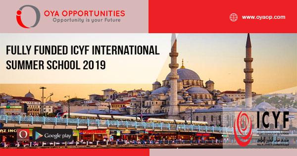 Fully Funded ICYF International Summer School 2019