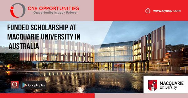 Funded scholarship at Macquarie University in Australia