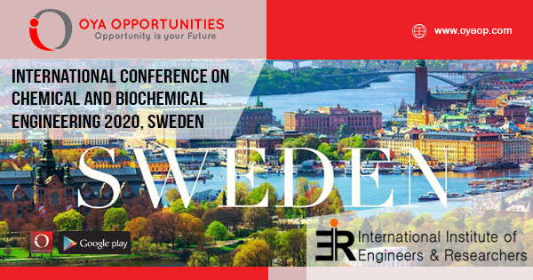 International Conference on Chemical Engineering 2020