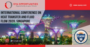 International Conference on Heat Transfer and Fluid Flow 2020