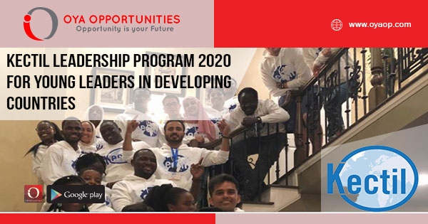 Kectil Leadership Program 2020 for Young Leaders in Developing Countries