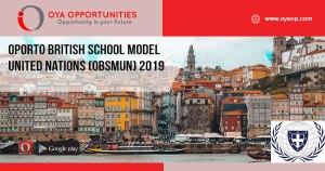 Oporto British School Model United Nations (OBSMUN) 2019