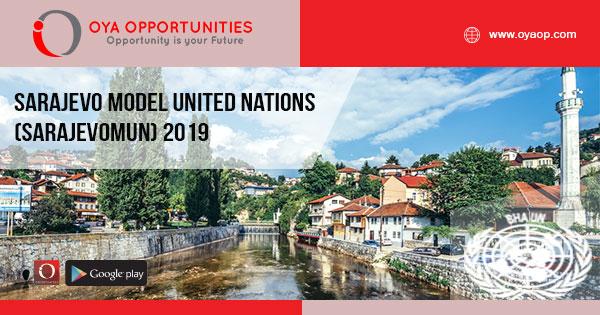 Sarajevo Model United Nations (SarajevoMUN) 2019