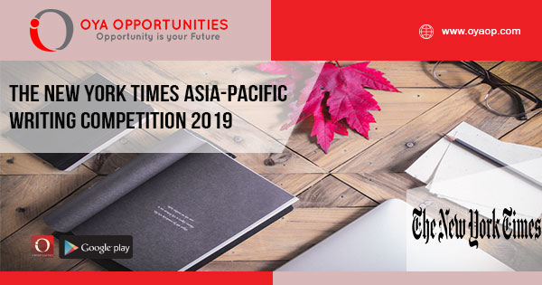 The New York Times Asia-Pacific Writing Competition 2019