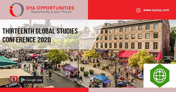 Thirteenth Global Studies Conference 2020