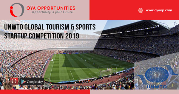 UNWTO Global Tourism & Sports Startup Competition 2019