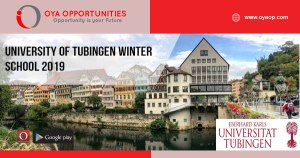 University of Tubingen Winter School 2019